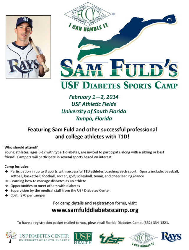 Sam Fuld USF Sports Camp