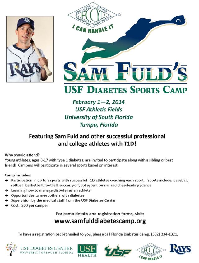 Sam Fuld USF Sports Camp