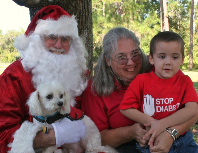 Santa, Anne, William & Mozart 2011
